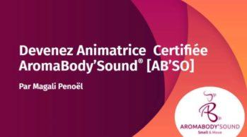 Animatrice certifiée AROMABODY'SOUND®