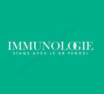 Stage Immunologie avec le Dr PENOEL (V.I.B.R.E.)