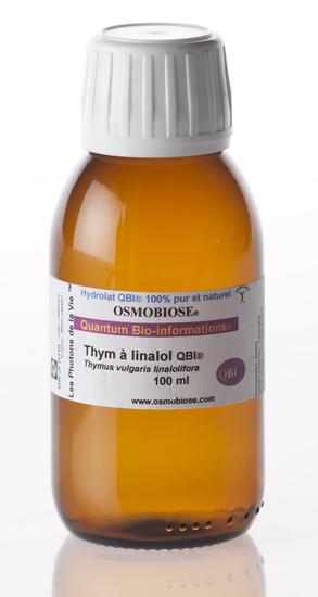 Hydrolat Thym vulgaire linalol QBI®